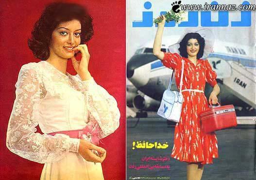 دختر شایسته و جذاب 38 سال قبل در ایران (عکس)