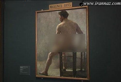 افراد برهنه در موزه ی شهر وین پایتخت اتریش (عکس)