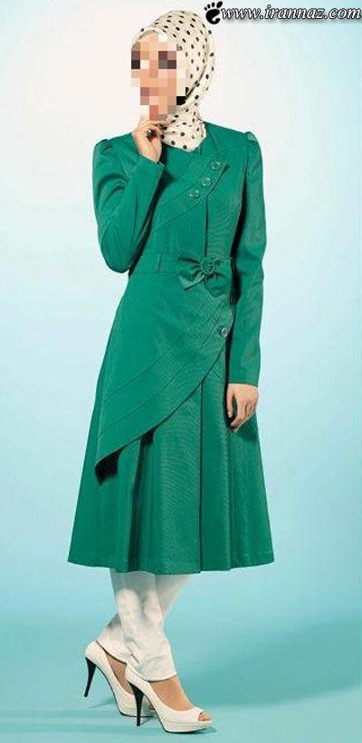مدل و رنگ مانتوهای جدید دخترانه سال 1392