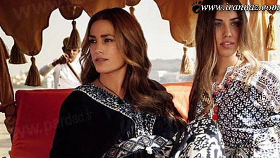 شگفتی همگان از زیبایی و جذابیت مدل ایرانی (عکس)
