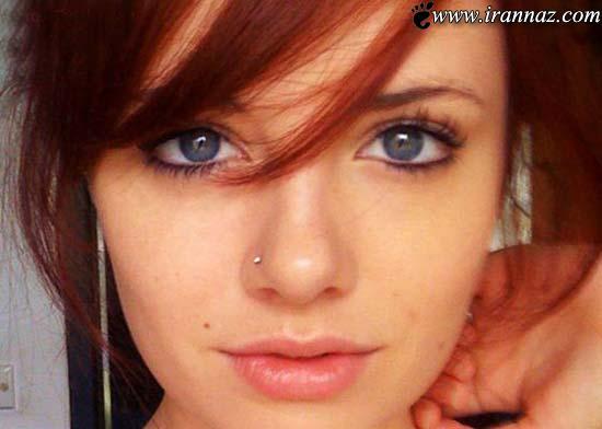 عکس هایی از دختران برگزیده زیباترین چشمان طبیعی