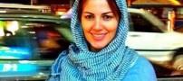 خانم بازیگر جنجالی لبنان در خیابانهای تجریش (عکس)