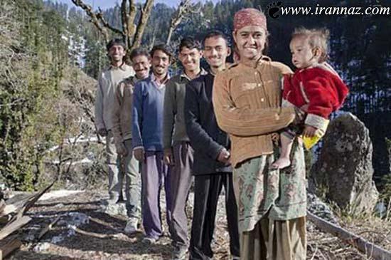 روستایی که در آن حداقل زنان 3 شوهر دارند! (عکس)
