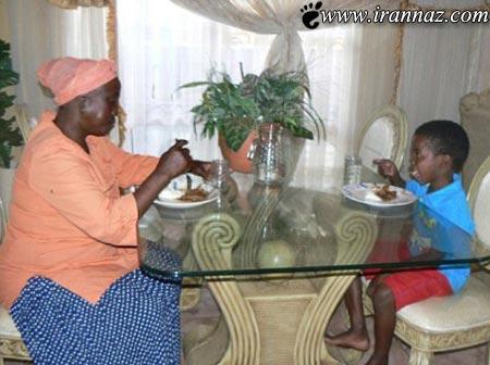 جدید از زندگی زناشوئی پسر 8 و زن 61 ساله (عکس)