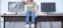 یک روز جالب با لی لی پوتی ترین معلم جهان (عکس)