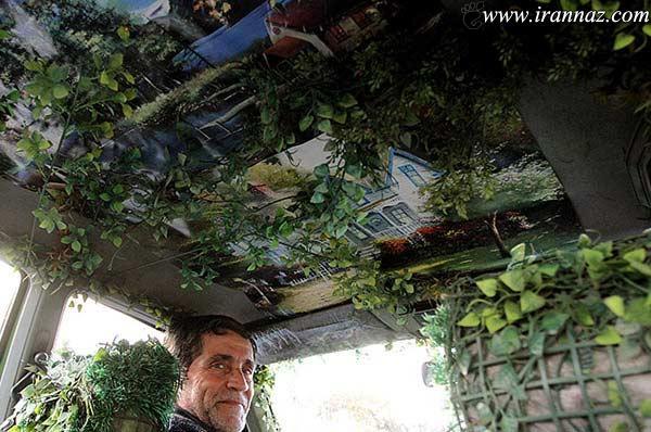 دیدنی ترین تاکسی تهران