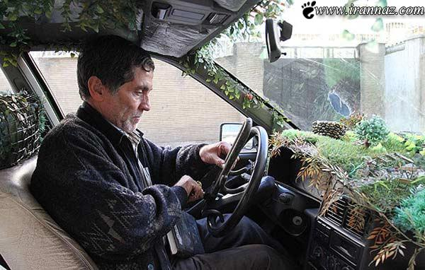 عکس دیدنی ترین تاکسی در شهر تهران