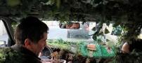 عجیب و جالب ترین تاکسی که در تهران می توان دید!!