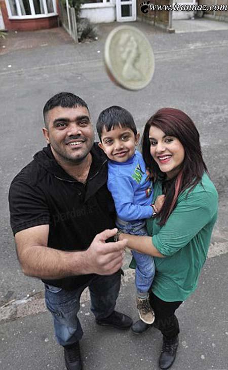 اقدام عجیب این زوج برای نجات فرزندشان! (عکس)