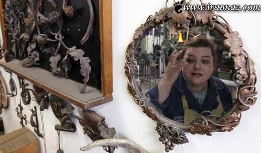 تنها خانمی که در جهان لقب زن آهنی را دارد (تصاویر)