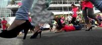 خنده دار و جالب ترین ورزش سال زنانه اندونزیایی ها!