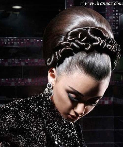 جدیدترین مدل شینیون های عروس در سال 2013