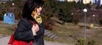 ترفند عجیب دختر مسلمان برای حفظ حجاب