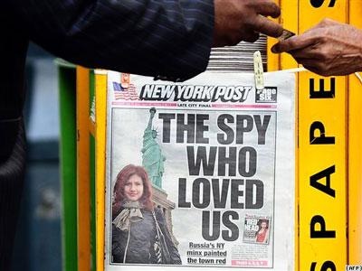 شغل جدید جاسوس زیبای روسها پس از آزادی!