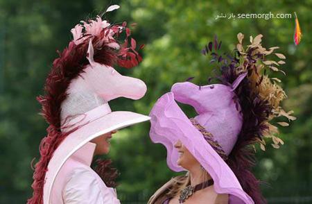 عجیب ترین کلاههایی که به تازگی مد شده اند !!
