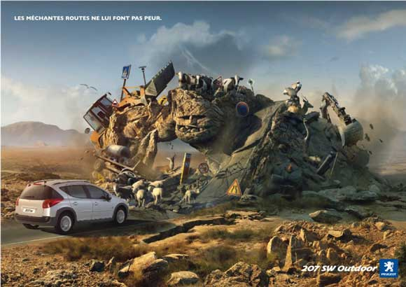 پوسترهای تبلیغاتی کمپانی های خودرو سازی