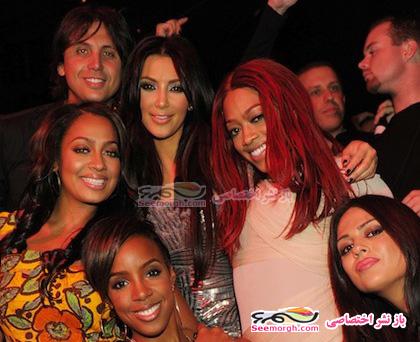 عکسهای جشن تولد زن زیبای هالیوود