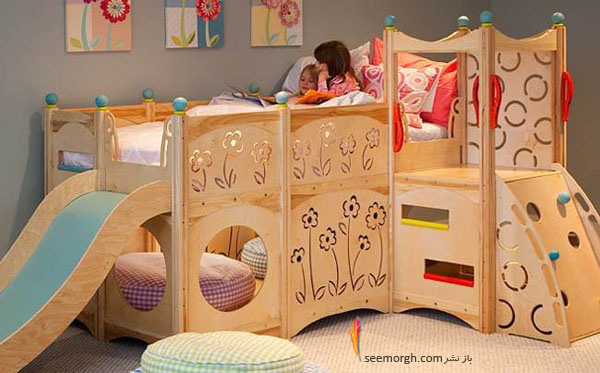 مدلهای تخت خواب شگفت انگیز برای کودکان