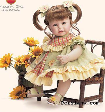 عکس عروسک نمدی زیبا