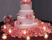گلآرایی بر روی کیک ...