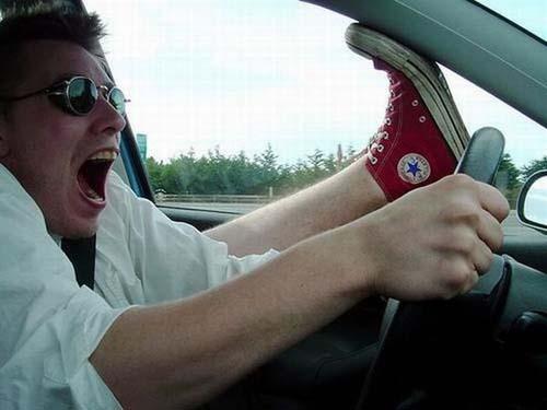 عکسهای خنده دار و جالب در جاده ها !