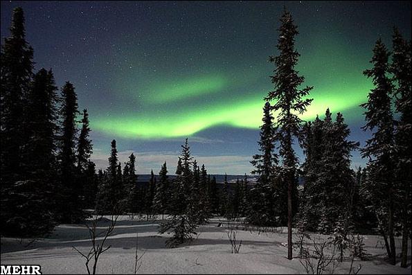 عکس هایی خیره کننده از نو و آسمان