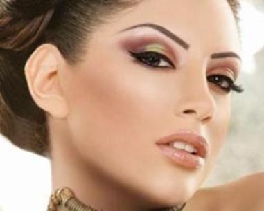 آموزش تصویری آرایش صورتهای کشیده و لاغر