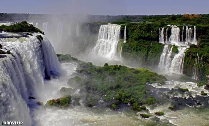 عکسهای شگفت انگیزترین آبشار های دنیا