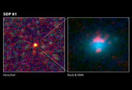 تصاویر کشف 5 کهکشان نامرئی؟؟؟