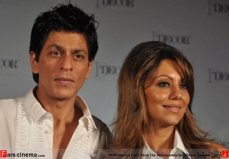 جدیدترین عکس شاهرخ خان به همراه همسرش!