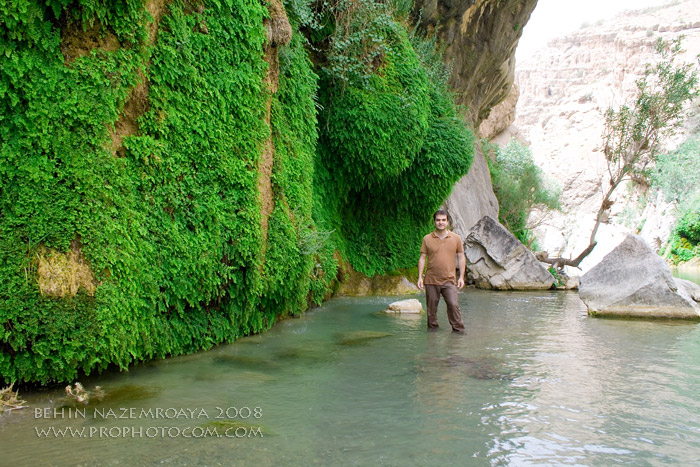 رودخانه بی بی سیدان در سمیرم اصفهان
