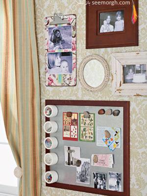 طراحی یک اتاق کار هنری و زیبا