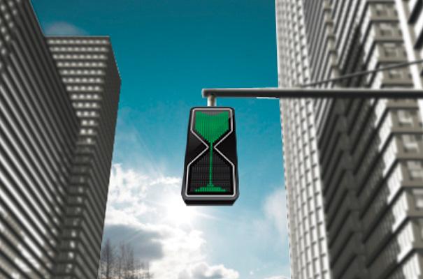 ساعت شنی یا چراغ راهنمایی!؟