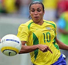 عكس مشهورترین فوتبالیست زن جهان