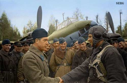 عکسهایی رنگیشده از جنگ جهانی دوم