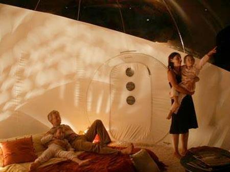 عکس هایی از چادرهای مسافرتی شفاف و زیبا