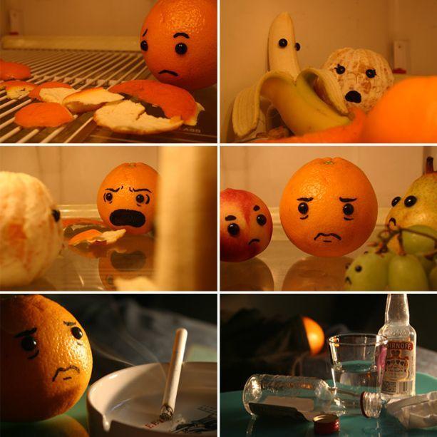 وقتی میوه ها به هم خیانت میکنند !!