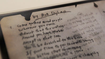 حراج دستنوشته یک آدم زنده به قیمت 422500 دلار