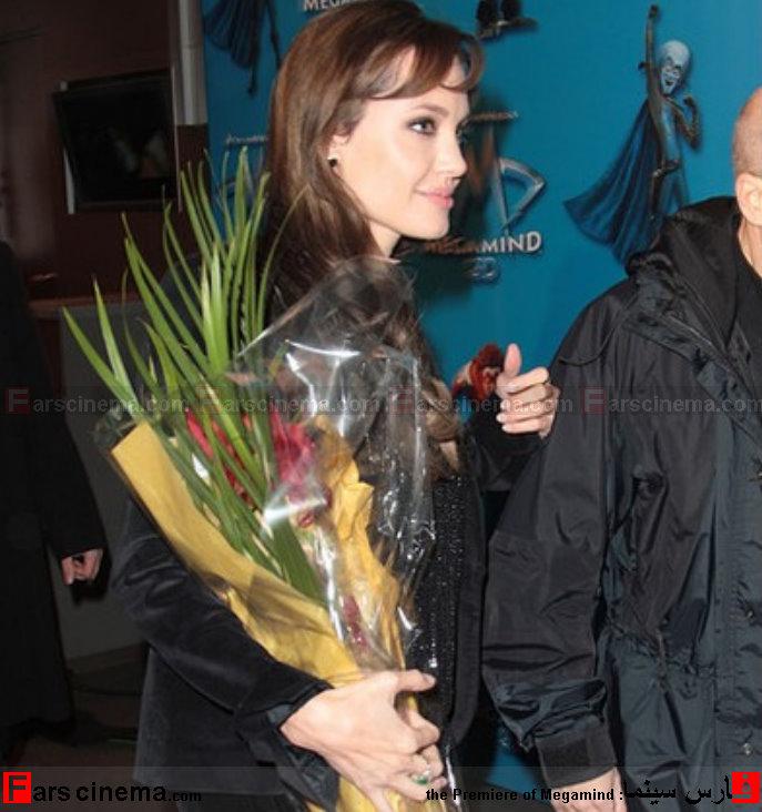 آنجلینا جولی و براد پیت در یک گردهمایی
