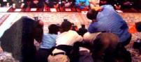 تلاش برای عکس گرفتن از رییس جمهور (عکس)