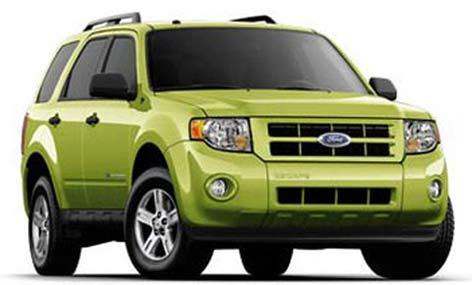 كممصرف ترین خودروهای مدل 2011