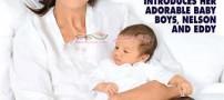 دوقلوهای سلن دیون 42 ساله متولد شدند (+عکس)