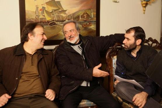 عکسی از دهنمکی و ایرج قادری در کنار هم!