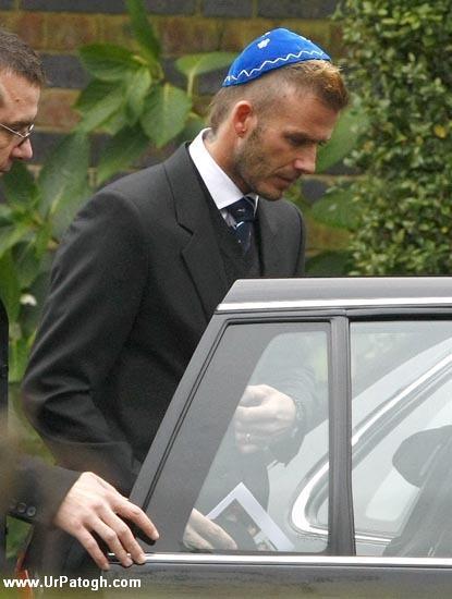 عکسهای مراسم تدفین پدر دیوید بکهام