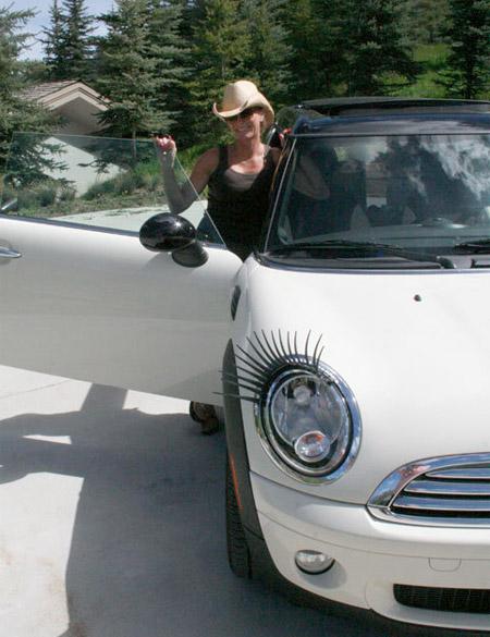 اگه ماشین ها مژه داشتند ... (تصویری)