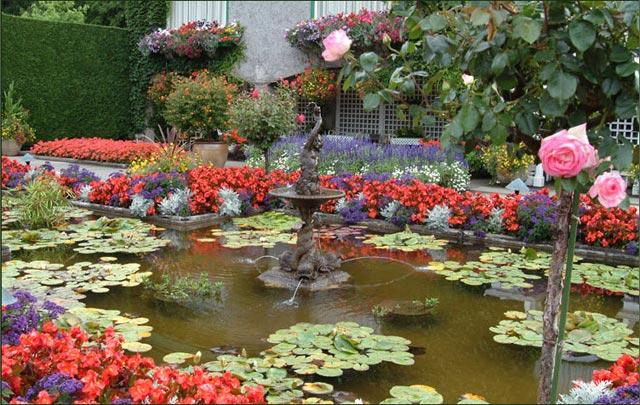 عکس هایی از زیباترین و بزرگترین باغ گل دنیا