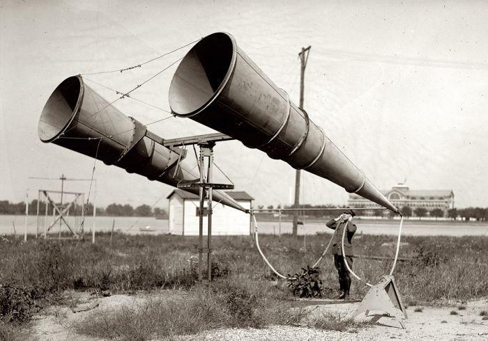 تشخیص هواپیمای دشمن قبل از اختراع رادار