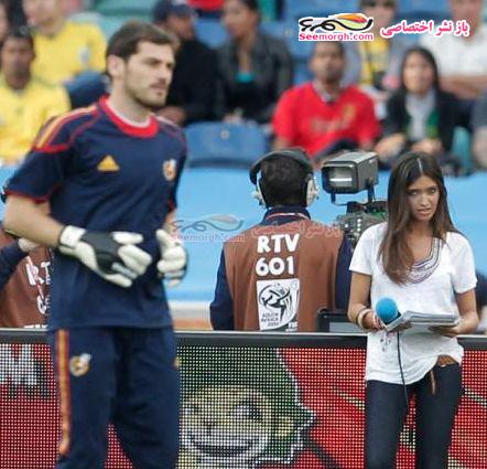 جذاب ترین دختر گزارشگر مسابقات ورزشی