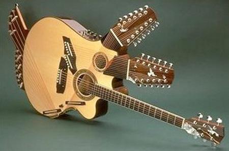 گیتارهایی با طرحهای جالب و دیدنی