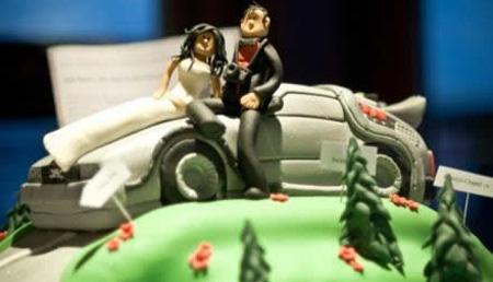 عجیب ترین کیک های سالگرد ازدواج